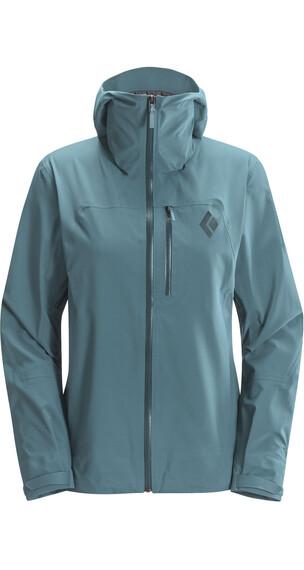 Black Diamond W's Sharp End Shell Jacket Caspian